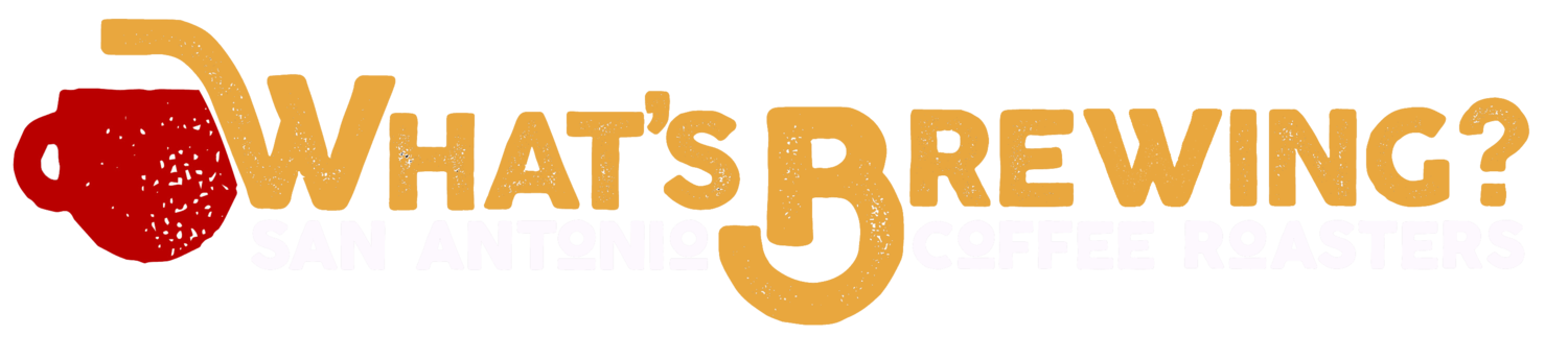 What's Brewing Coffee Roasters logo