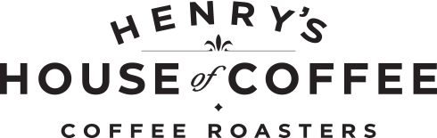Henry's House of Coffee logo